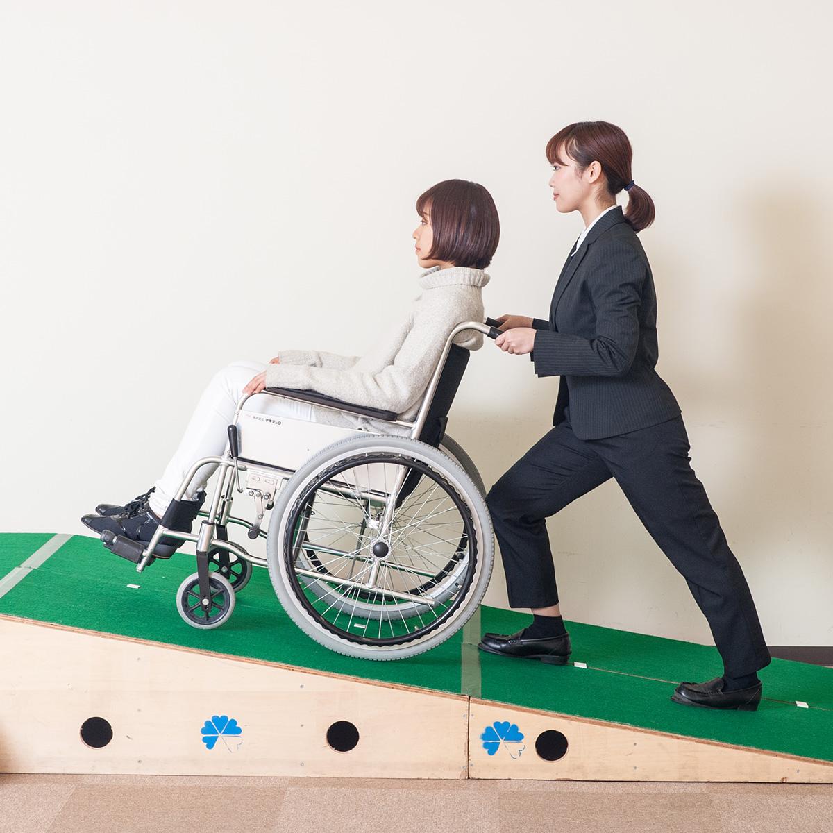車椅子(車いす)操作